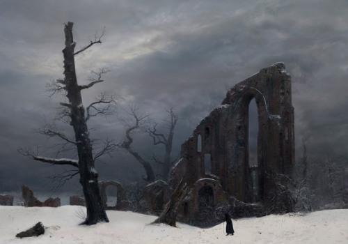 Winter - Caspar David Friedrich